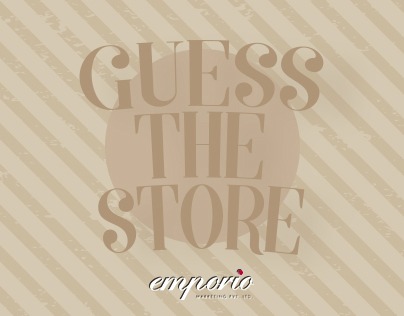 Guess the store(infographic)