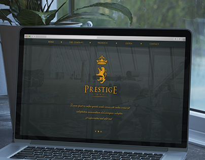 Prestige Trade - Web Design