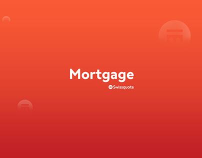 UX Design | Swissquote Mortgage