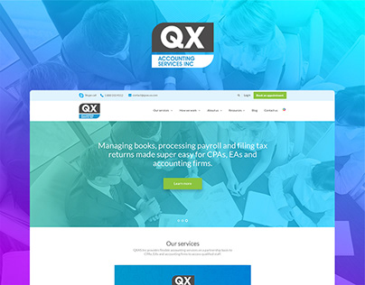QX Accounting Services USA Website