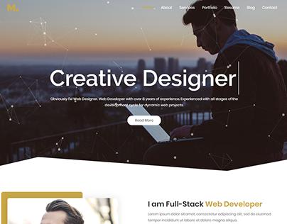 Mira - Creative Portfolio Design