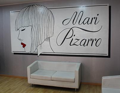 Mural peluquería