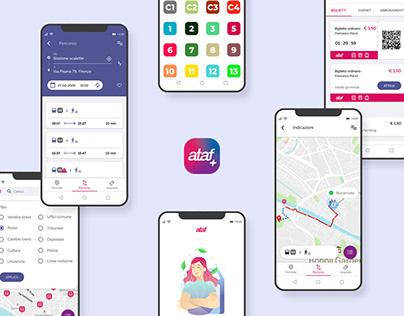 Ataf + | UX UI case study