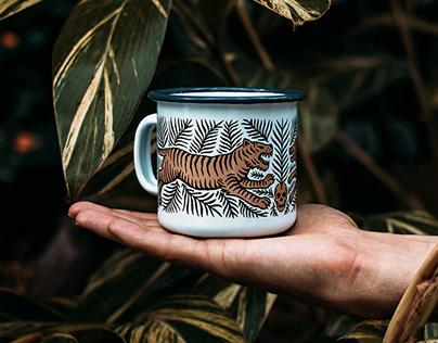 Enamel Mug Design