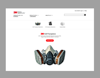 3M Redesign homepage
