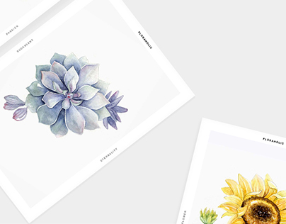 Floraholic Postcards