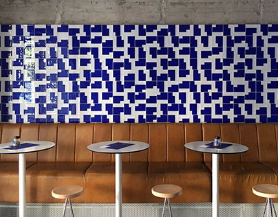 BLUE AGORI Greek Food Bar - Visual Identity Design