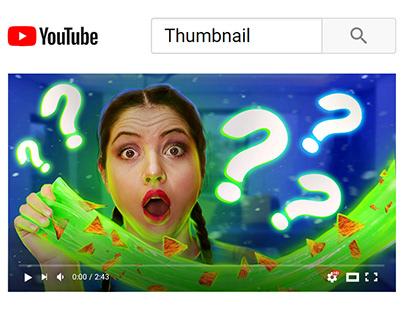 YouTube Thumbnail - Children's videos