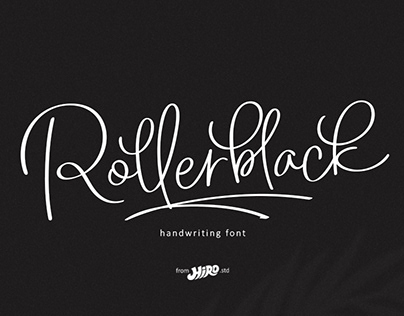 Roller Black (Handwritting Font)