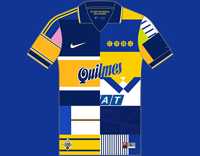 Boca Juniors Kit History, from 1905 to present