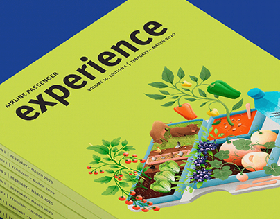 Experience Mag cover