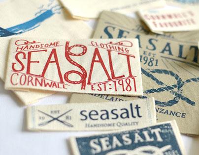 On Garment Branding for Seasalt Cornwall