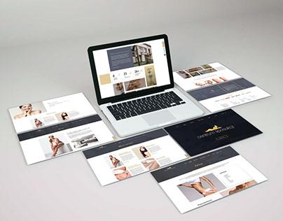 Strona www Centrum Liposukcji / web design liposuction