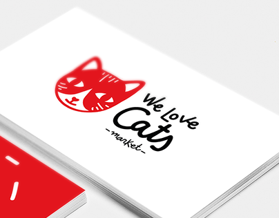 Identidad Gráfica We Love Cats Market