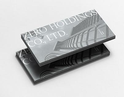 ZERO Holdings, Inc. | Pamphlet Design