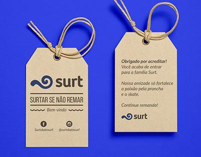 Surt Skate & Surf - Identidade Visual