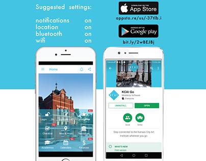 KCAI Student Mobile App