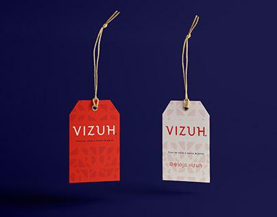 Loja Vizuh - Identidade Visual
