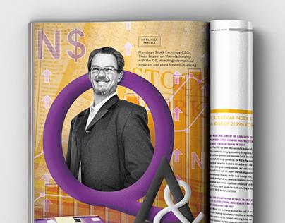 JSE Supplement Magazine Illustrations