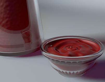 Packaging Redesign / Ketchup Bottle