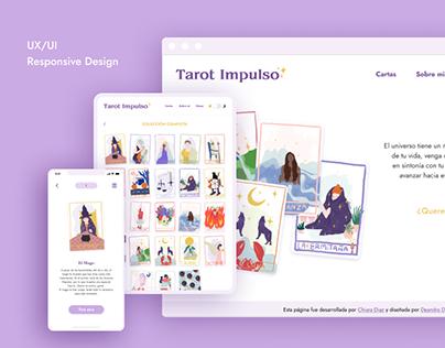 Tarot Impulso UX/UI Design