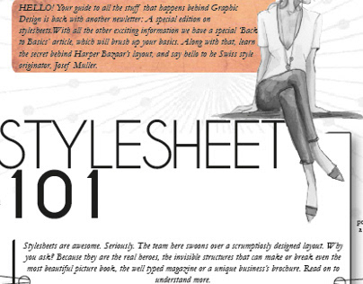 Newsletter on Stylesheets
