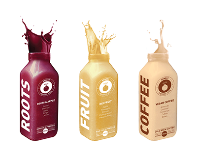 Honest Cold Pressed Juice - Branding and Packaging