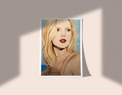 Portrait - Scarlett Johansson
