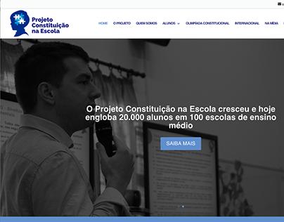 Site - Projeto Constituição nas Escolas