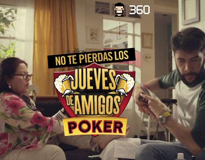 Campaña Jueves de amigos Poker - Follow Up