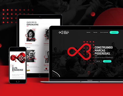 Site Alfa Branding