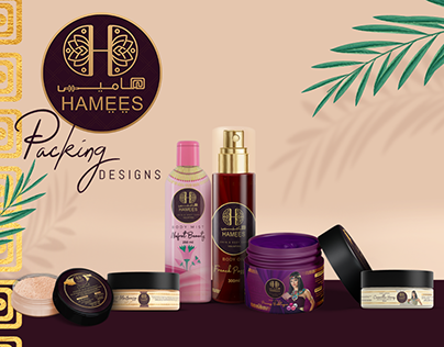 Hamees Cosmetics Packing Design