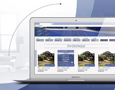 Modelo - Website Imobiliária