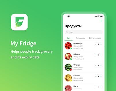 My Fridge — mobile app