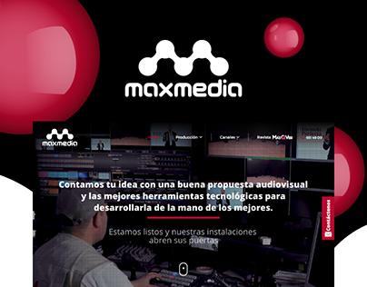 Maxmedia www.maxmediasa.co