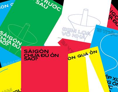 NOISY SAIGON - SÀI GÒN CHƯA ĐỦ ỒN SAO