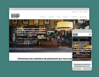 Asap -- Responsive Website Design
