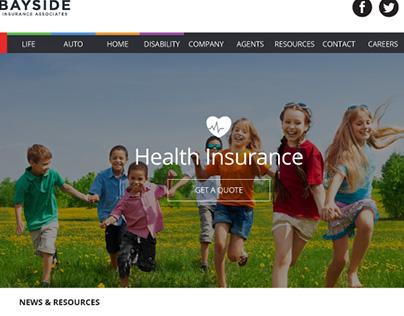 Bayside Insurance Associates Front-End Web Design