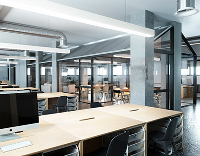OFFICE OPEN SPACE IN MOSCOW
