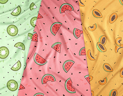 Fruit print collection for the Bellabu Bear