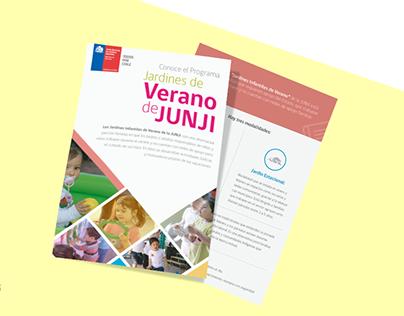 JUNJI- Campaña Jardines de Verano