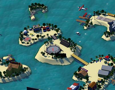 UFC Island Animation