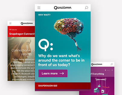 Qualcomm Page Design