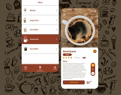 Coffe || App Mobile Design