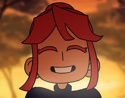 short giggle animation
