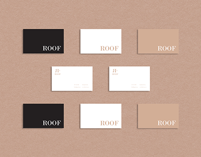 ROOF l Brand identity