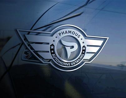 Phamous Detailing Branding | Redesign