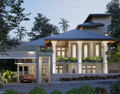 Proposed Extension-House Pannipitiya-SL