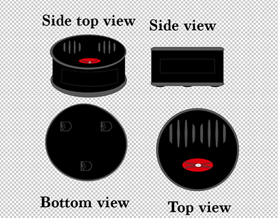 DJ Roomba Concept drawing