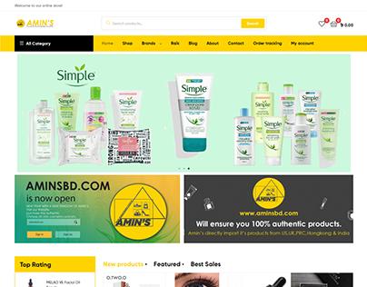 Aminsbd.com - E-Commerce